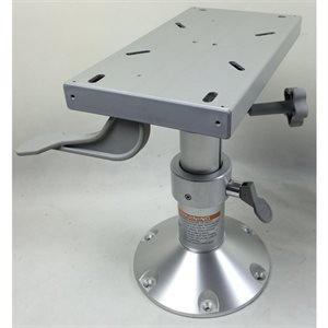"12"" - 16"" adjustable pedestal with locking slider"